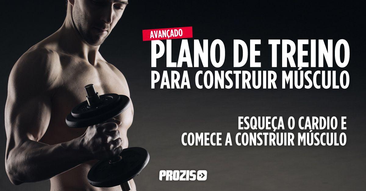 VIVER BEM COM ENERGIA - FITNESS : Plano de treino avançado para construir músculo e/...