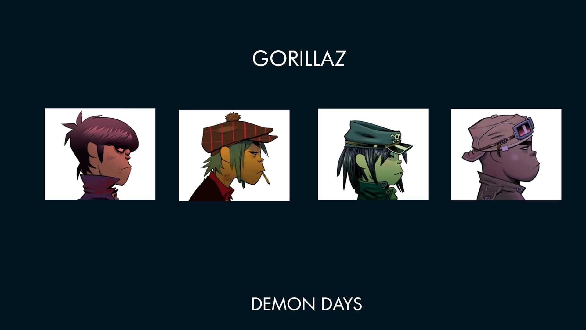 1920x1080 Uninspired Gorillaz Wallpaper In 2019 Gorillaz