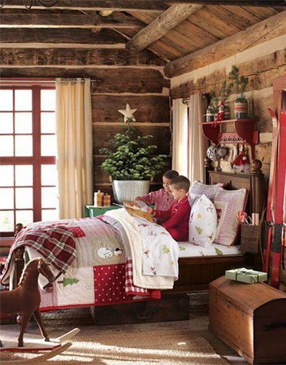 Best 50 Stylish Christmas Bedroom Décor Ideas Christmas 400 x 300