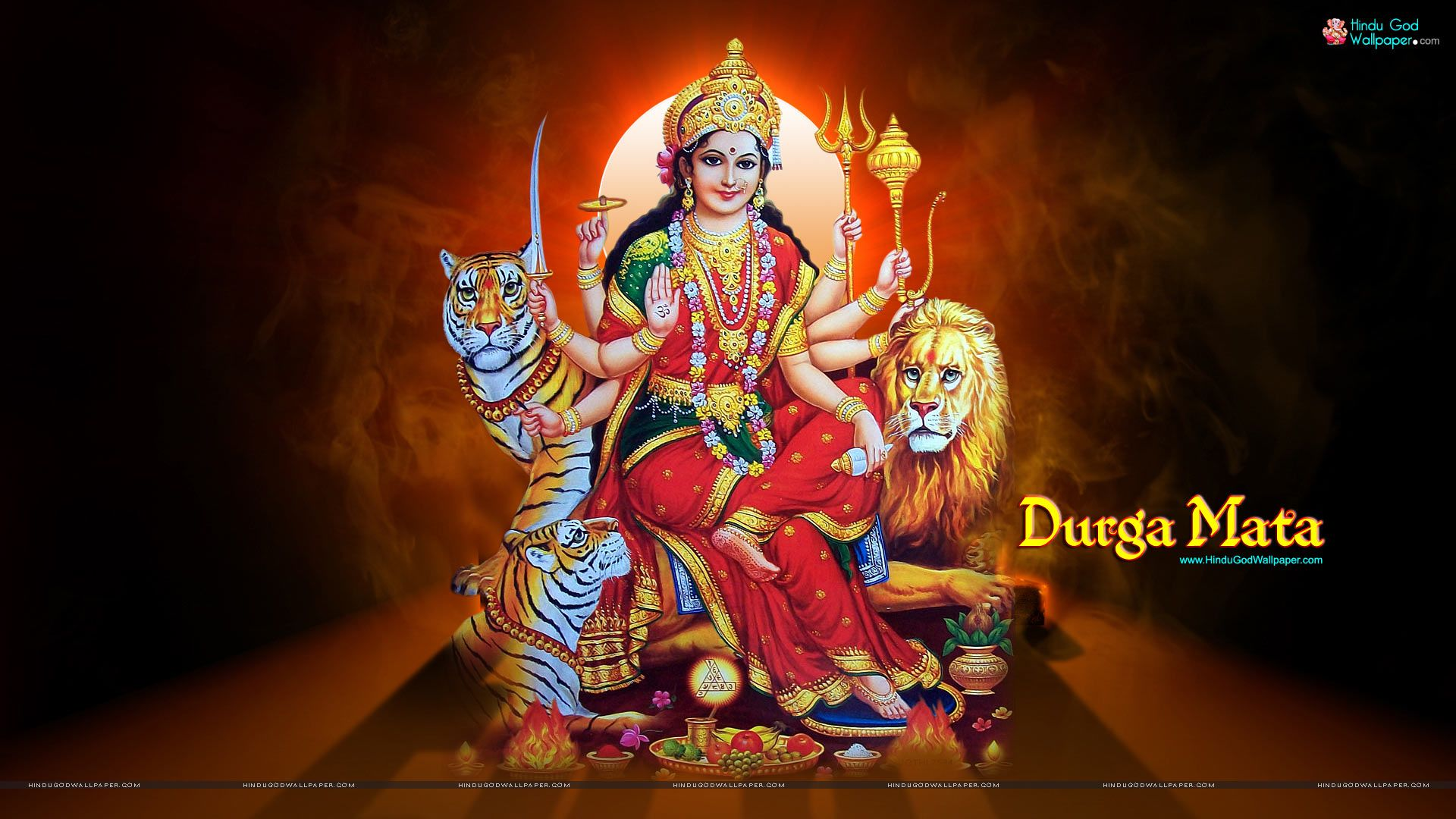 Goddess Durga HD widescreen Wallpaper Download Maa Durga