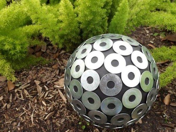 Metall Dekoration Garten Selber Basteln