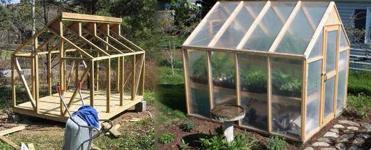 Armar un invernadero en casa ideas tiles invernaderos - Invernadero para casa ...
