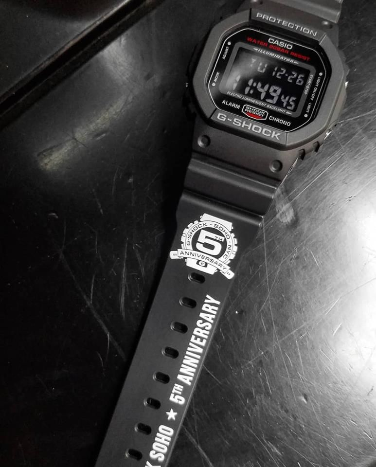 Live Photos G Shock Dw 5600 35th Anniversary Collaborative And 5