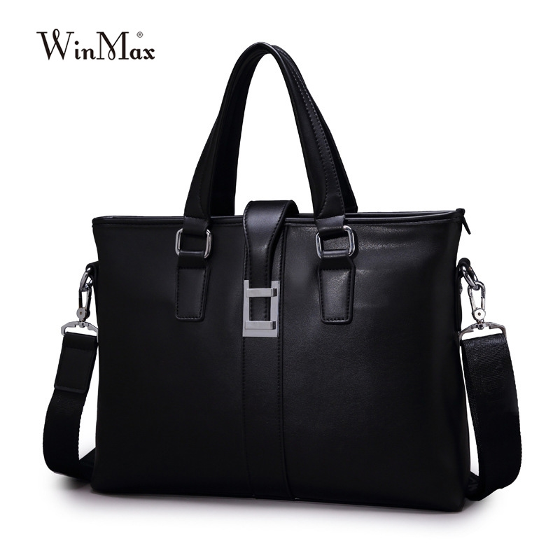 29.11$  Watch more here - http://aiu9m.worlditems.win/all/product.php?id=32737612675 - Famous Brand leather man's handbag commercial business bag fashion man briefcase male delicate ad luxurious maleta messenger bag