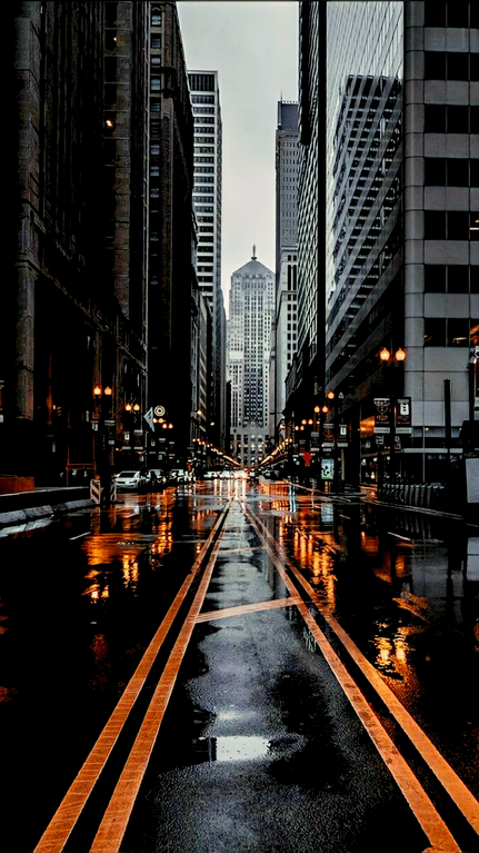 Rainy Street in the Daytime (1520x2705)