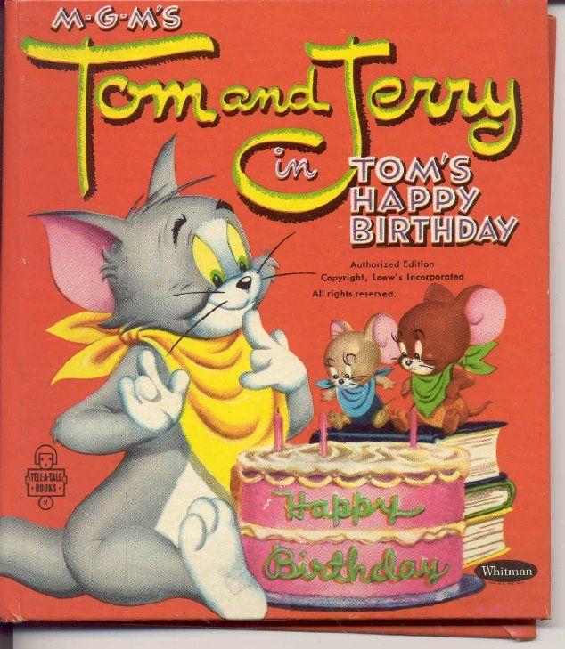 Happy Birthday Tom and Jerry happybirthday happybirthdaywishes