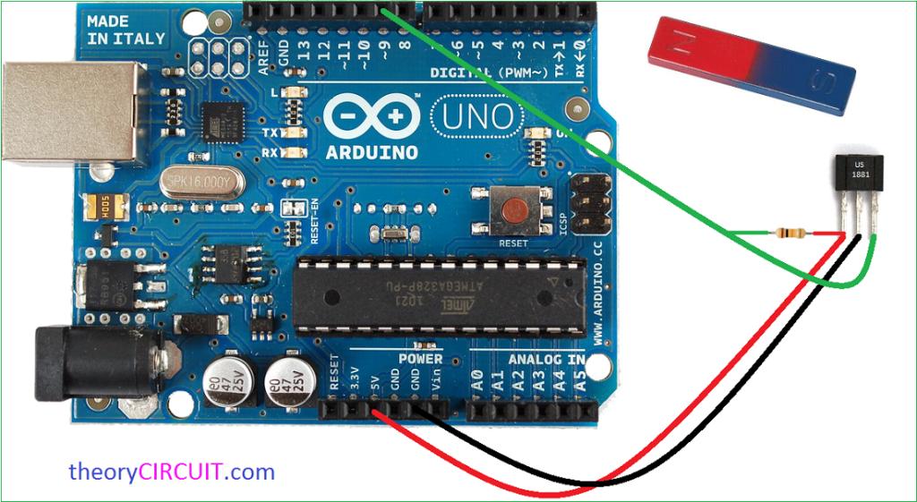 noted hall effect sensor arduino program technology in 2019