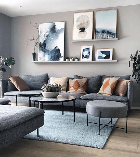 Wohnzimmer Grau Braun Elegantes Wohnzimmer Grau Rote Dekokissen