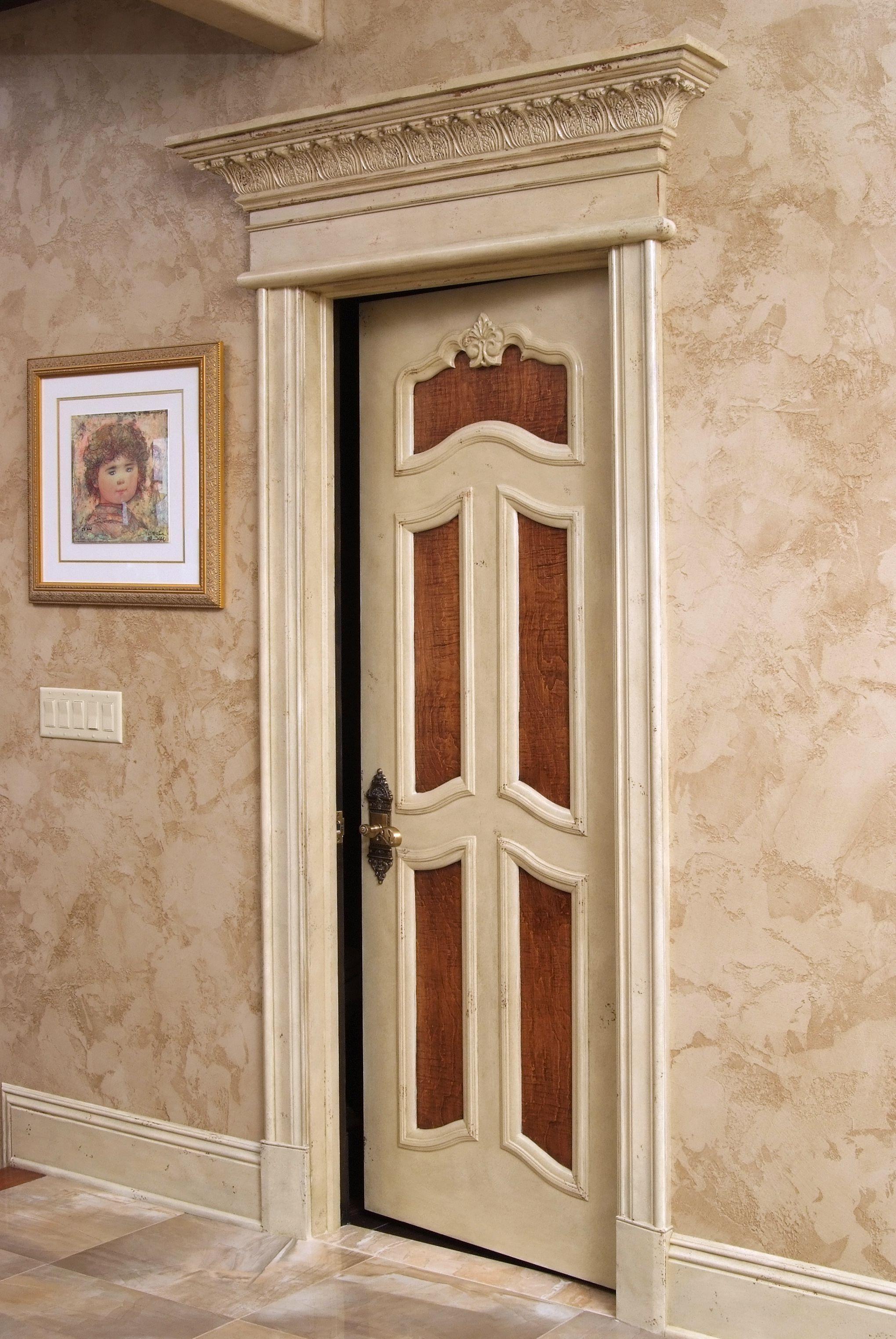 Custom made 5 panel solid poplar door with B110 (1 1/16\  x & Custom made 5 panel solid poplar door with B110 (1 1/16\