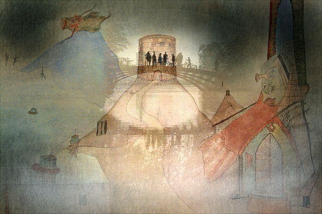Homage an die Surrealisten  Collage mit einem Detail eines Bildes von WOLS aus dem Museum Scharf-Gerstenberg, Berlin Charlottenburg    www.smb.museum/smb/sammlungen/details.php?objID=12807    Die Sammlung Scharf-Gerstenberg befindet sich im östlich ...(See the best #Art shows in     Manhattan on https://www.artexperiencenyc.com