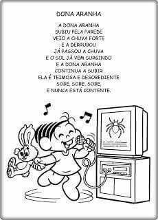 Dona Aranha Educacao Infantil Plano De Aula Musica Musica Na