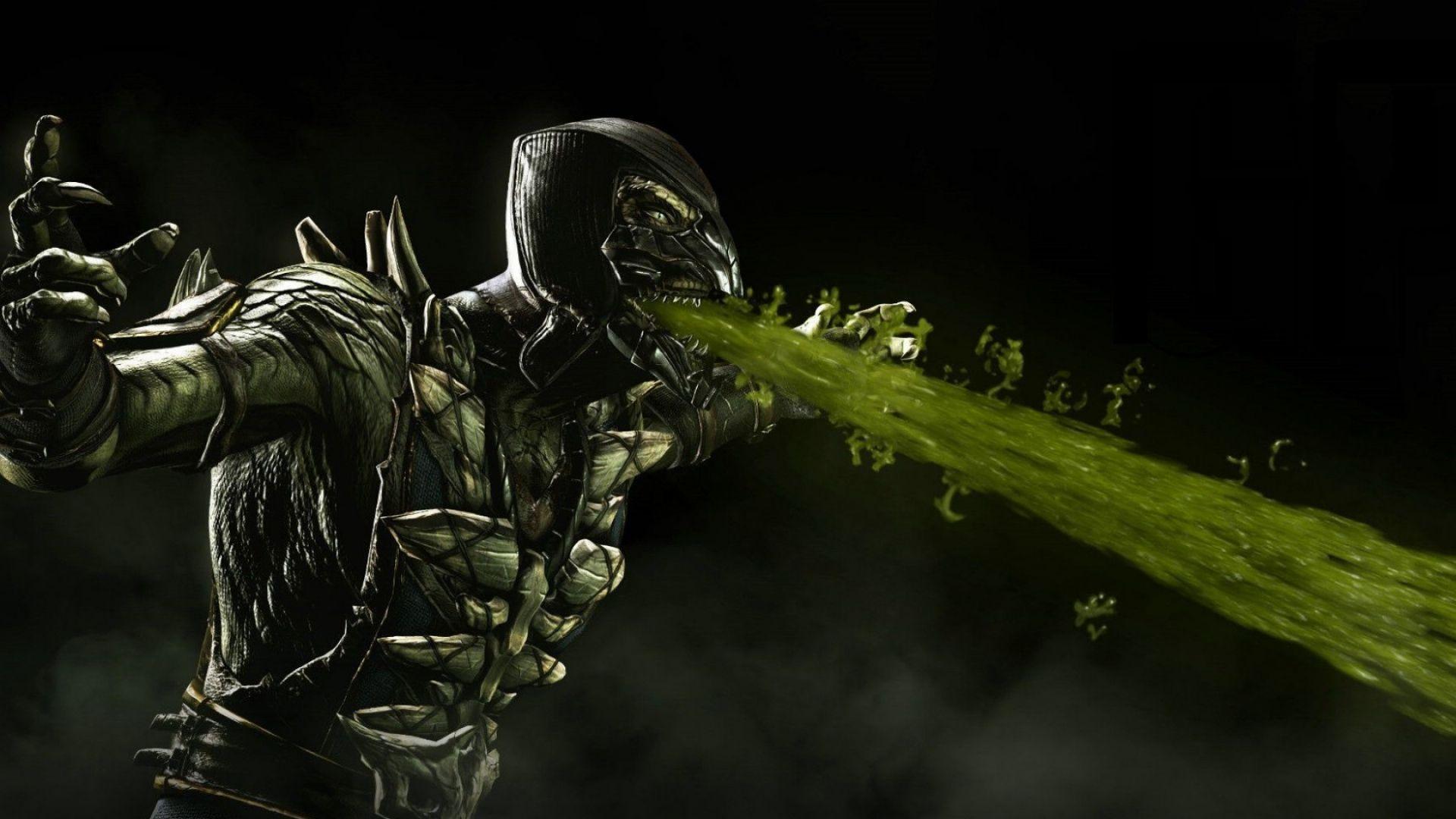 Mortal Kombat X Ermac Raiden Fight Magic Arena HD Wallpaper