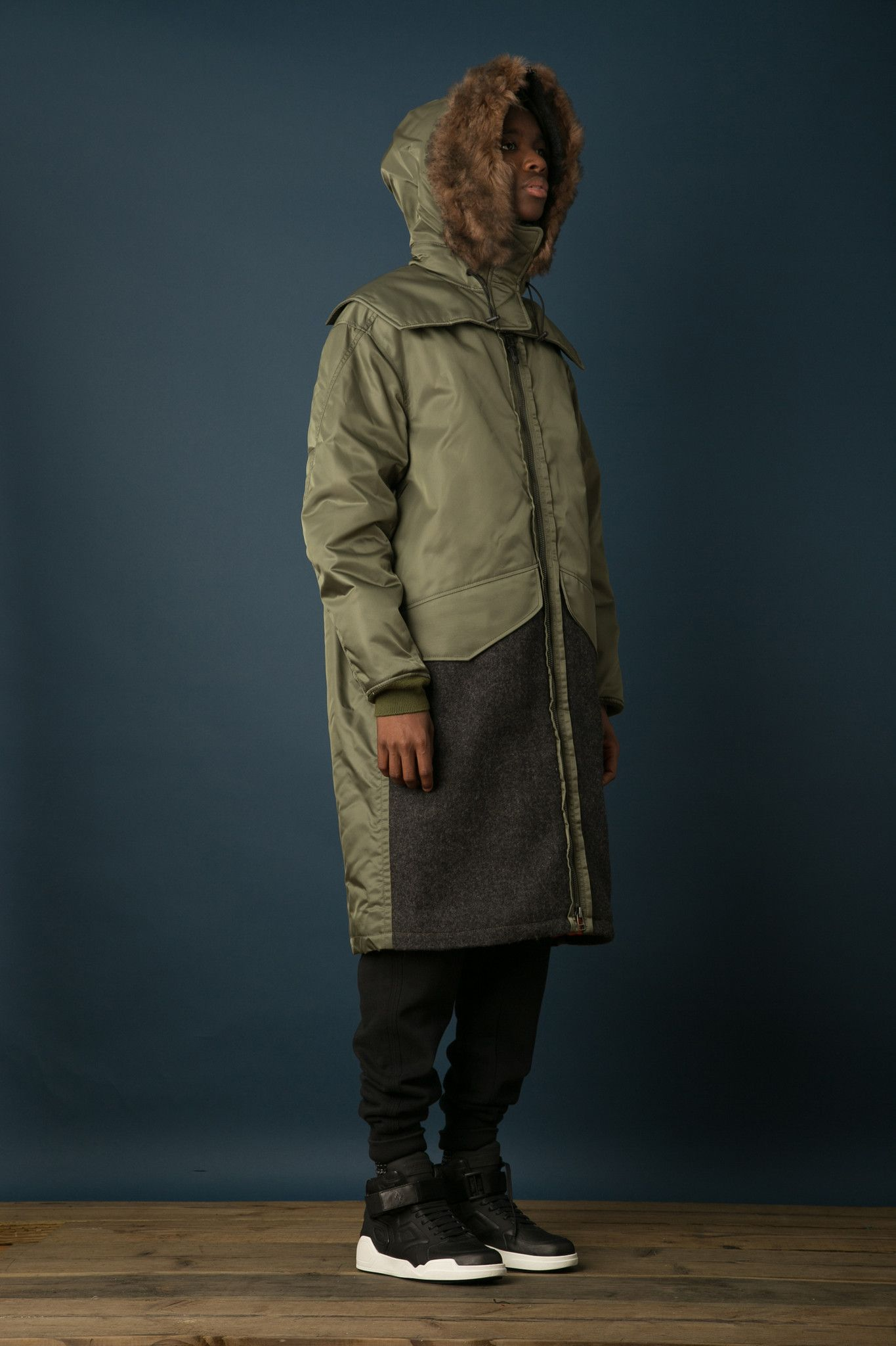 Coole Jacken Oversized Flight Parka Sport And Outdoorwear