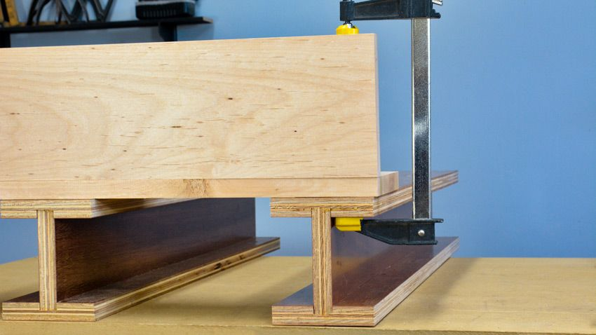 Clamping Hacks Episode 5 Woodworking Clamps Tips And Tricks Woodworking Woodworking Clamps Steel Bed Frame