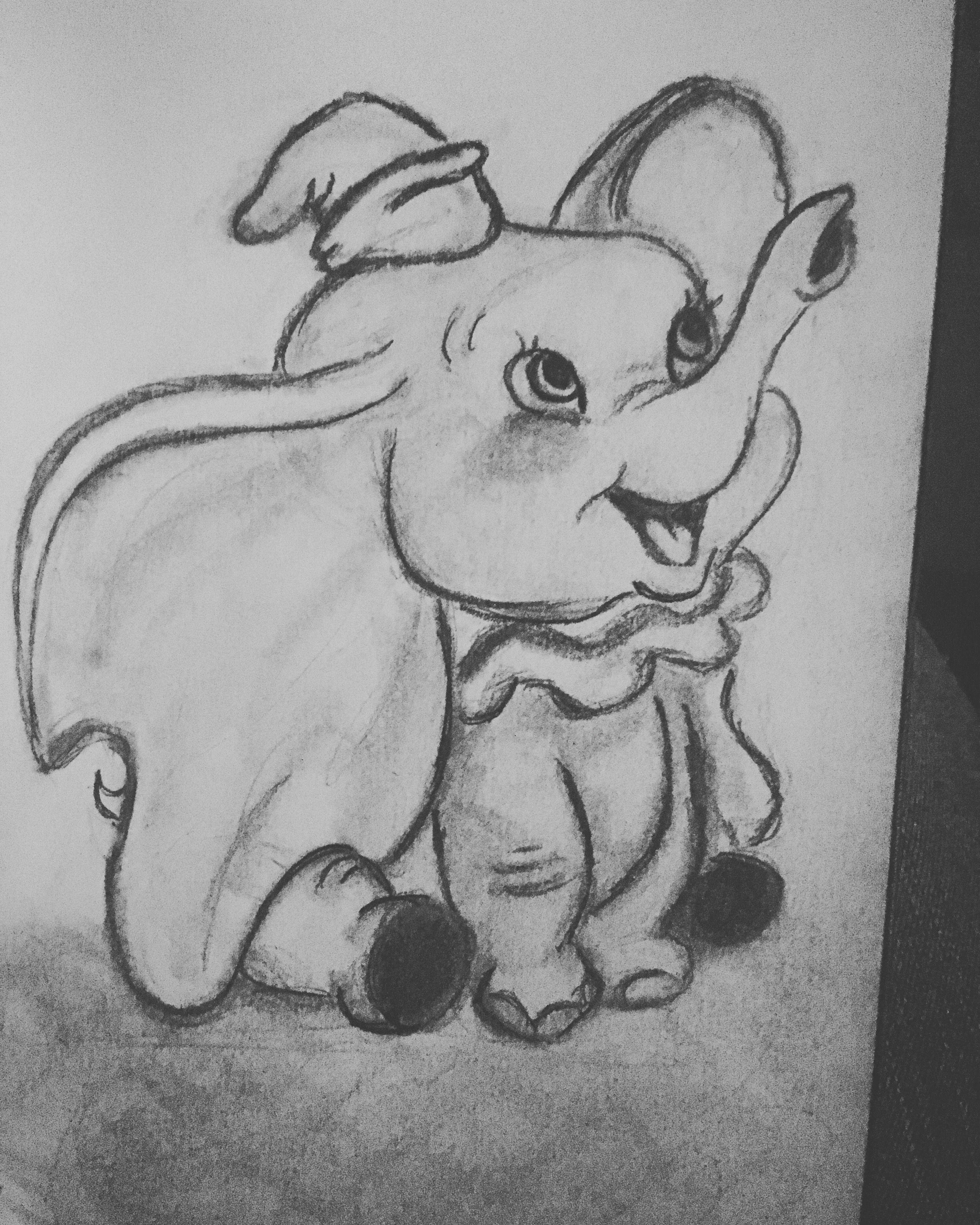 Dumbo 8  Disney drawings sketches, Art drawings sketches