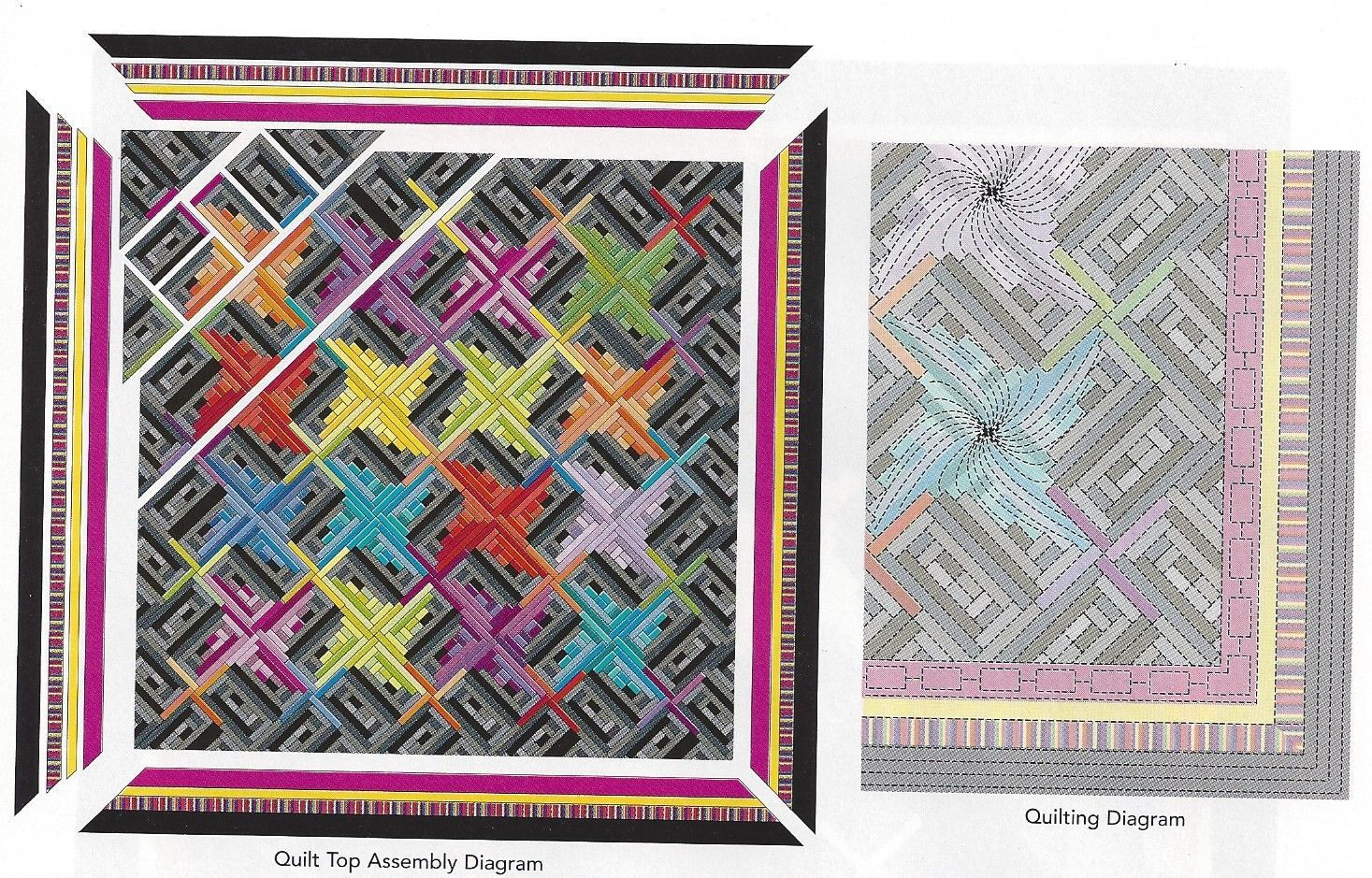 Stepping Out in Color ~ Exploding bursts of color on black background. Stepping Out in Color ~ PATTERN ONLY ~ Challenging. Quilt Pattern will arrive in sheet protector. Pattern Only (you are not purchasing a magazine/book, a kit, fabric, notions or a project w/supplies or a finished product). | eBay!