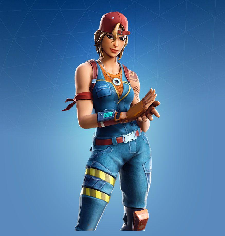 Sparkplug Character Fortnite Skin