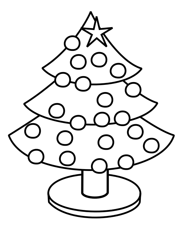 Simple Christmas Tree Coloring Pages Christmas Tree Coloring Page Christmas Coloring Sheets Christmas Coloring Pages