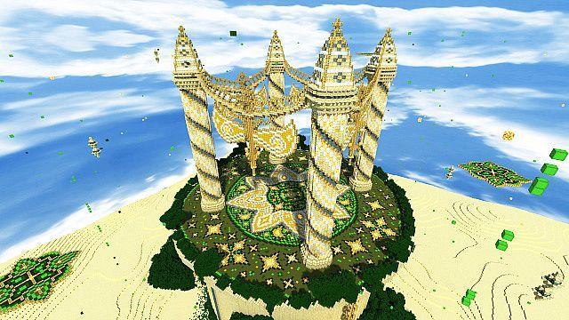 Baischad The Desert Monument Disney Minecraft Cool Minecraft