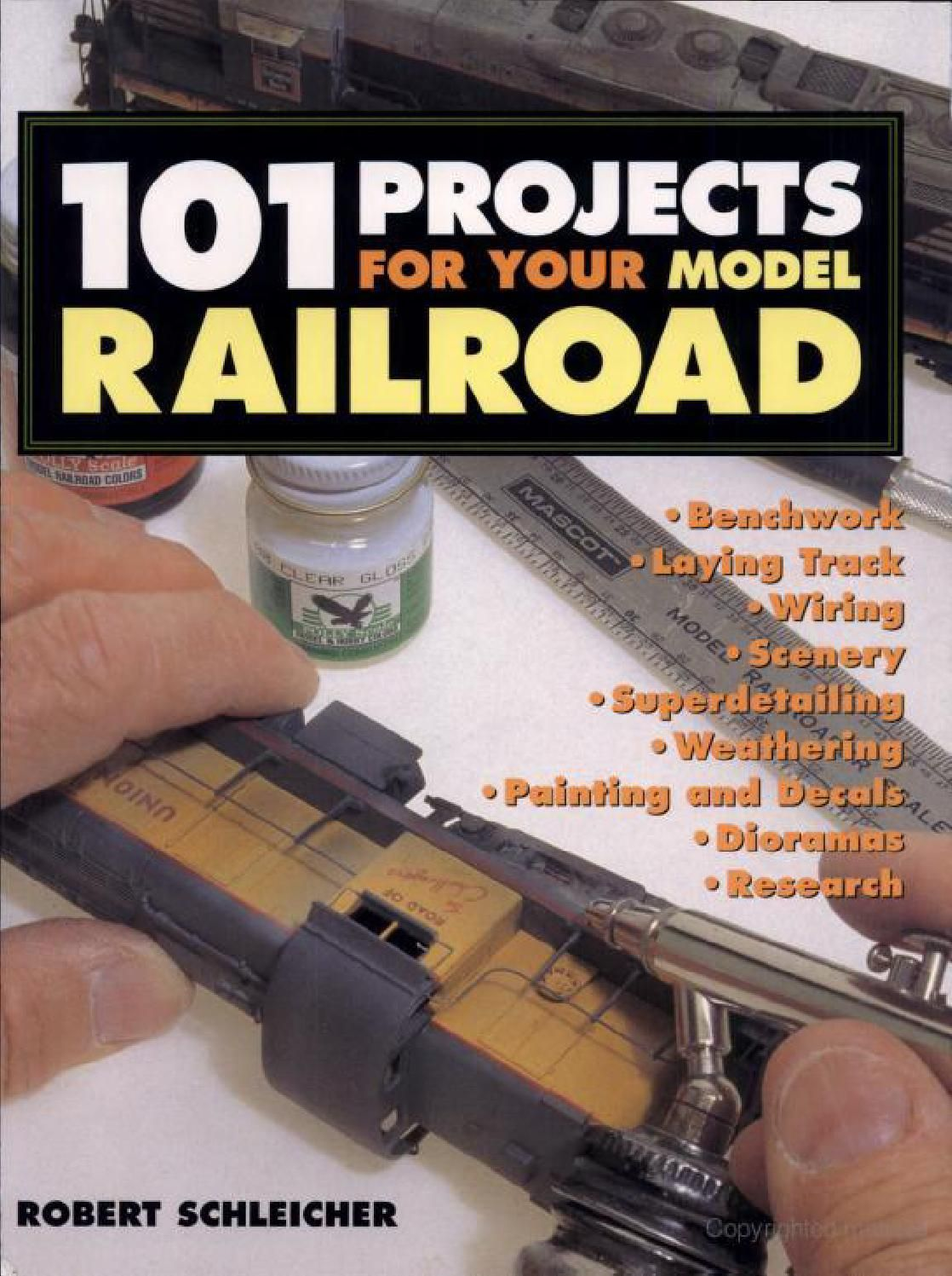 101 Project For Your Model Railroad Trainspotting Dioramas Card Wiring Track