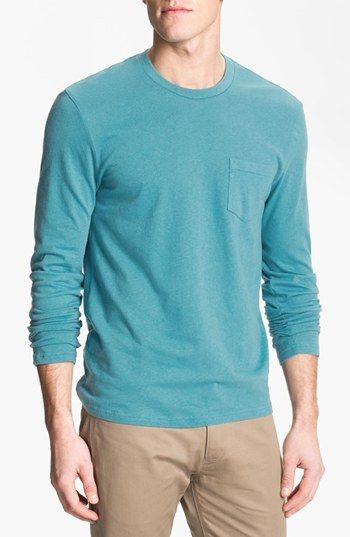 The Rail by Public Opinion Long Sleeve Pocket T-Shirt (2 for $40) available at #Nordstrom