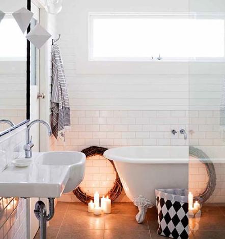 Badezimmer Nordisch - Design