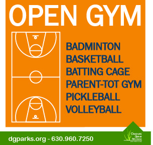 Practice your moves, meet your friends, prepare for leagues, and stay active at the Recreation Center. No reservations are necessary or accepted for open gym programs! Courts are available on a first-come, first-served basis. Visit dgparks.org for Open Gym Schedules!