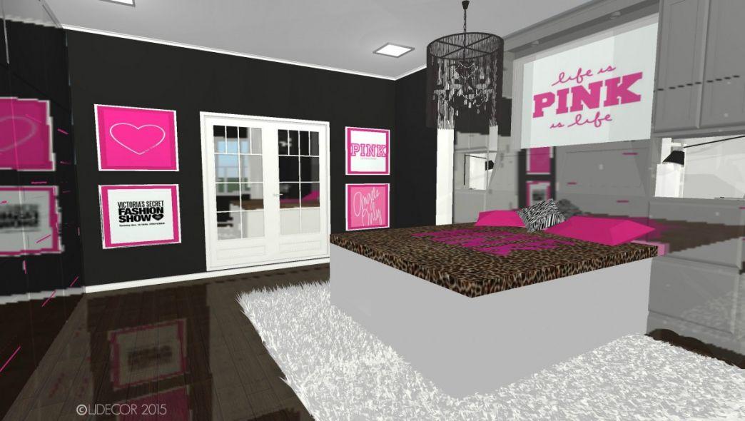 victoria secret pink bedroom  bedroom closet door ideas