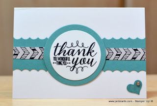 JanB Handmade Cards Atelier: Go Wild Thank You Cards Video