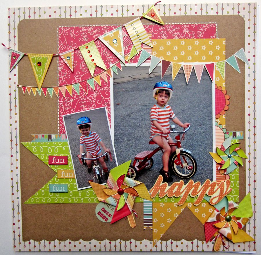 Scrapbook ideas and themes - Banners And Pennants