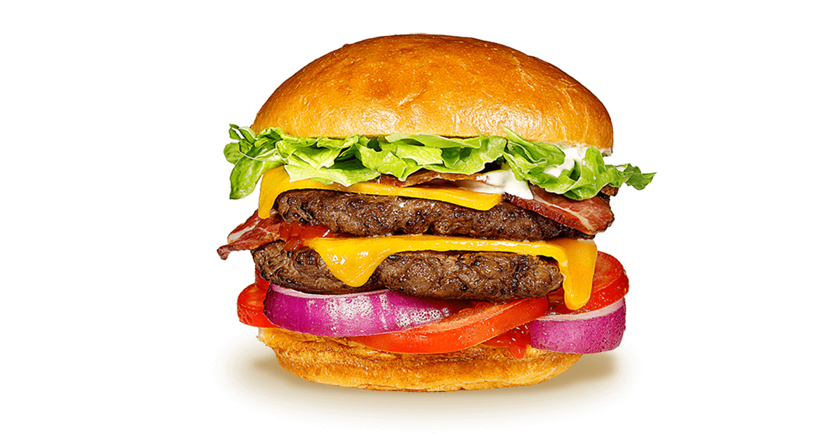 Image result for cheeseburger with lettuce tomato mayo