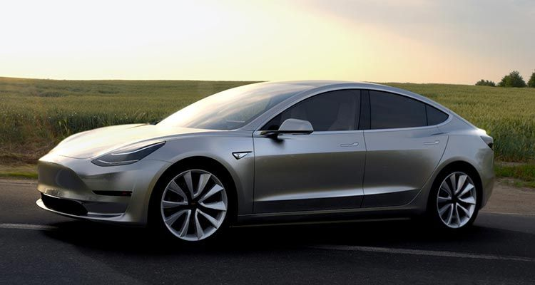 2017 Tesla Model 3 Electric Car Unveiled Models and Cars - teacher resume examples 2018