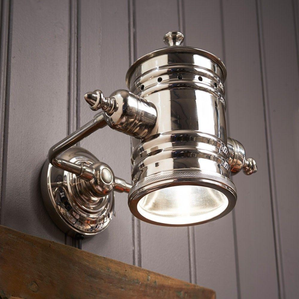 Riviera Maison On Stage Wall Lamp | Vegglamper, Interiør