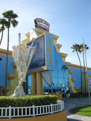 Ron Jon Surf Shop..one of my FAVORITE shops in Cocoa Beach.