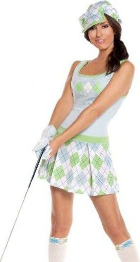 Sexy golf clothes for women