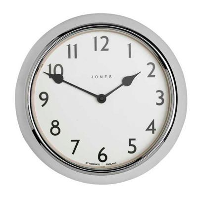Jones Chrome Ambassador Wall Clock At Debenhams Jones