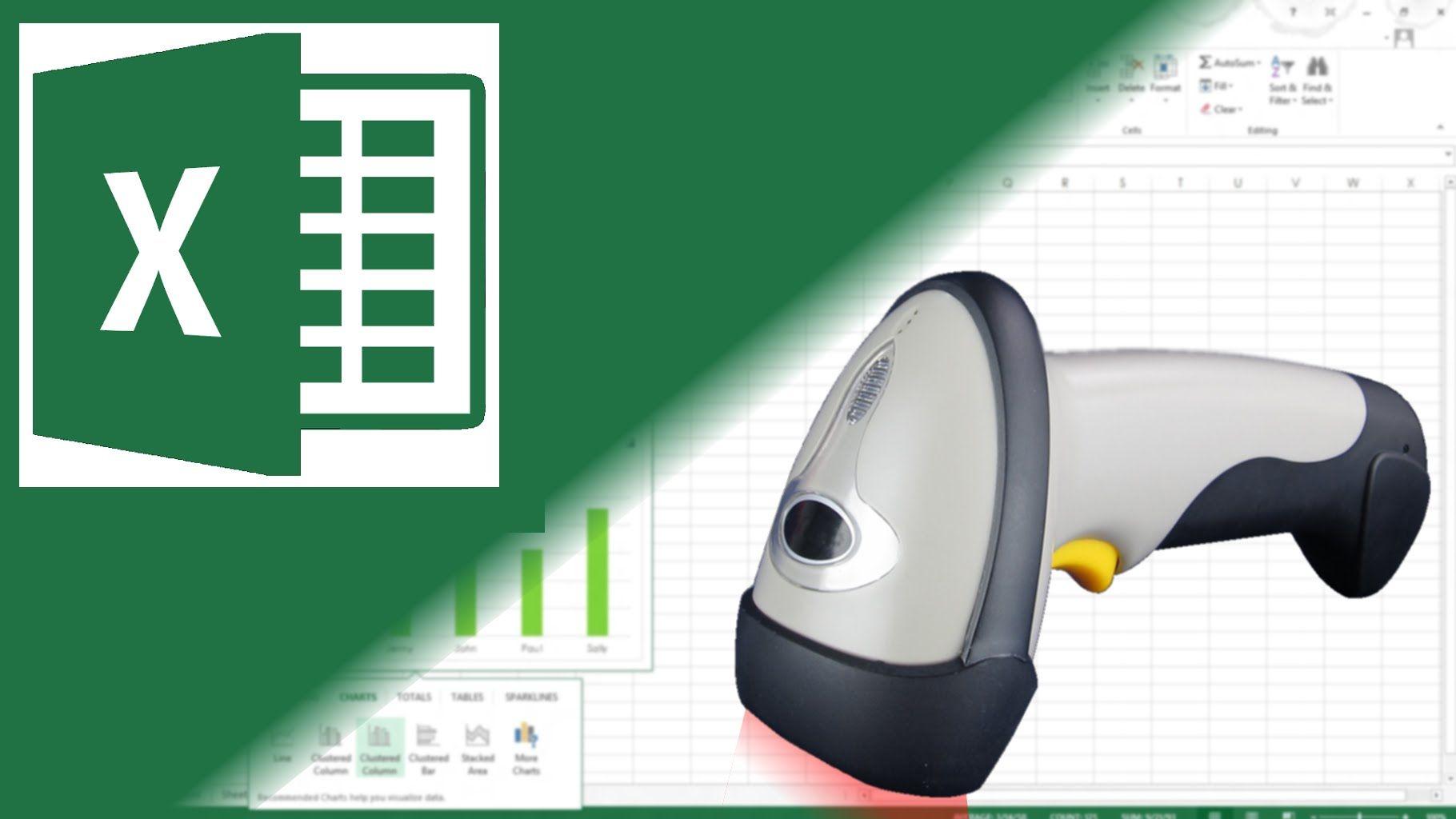 Cómo Hacer Un Inventario En Excel Con Código De Barras Paso A Paso Tecnologias De La Informacion Y Comunicacion Microsoft Excel Informatica Y Computacion