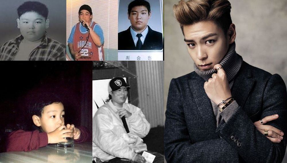 10 male idols before and after ��big bang�� bigbang top