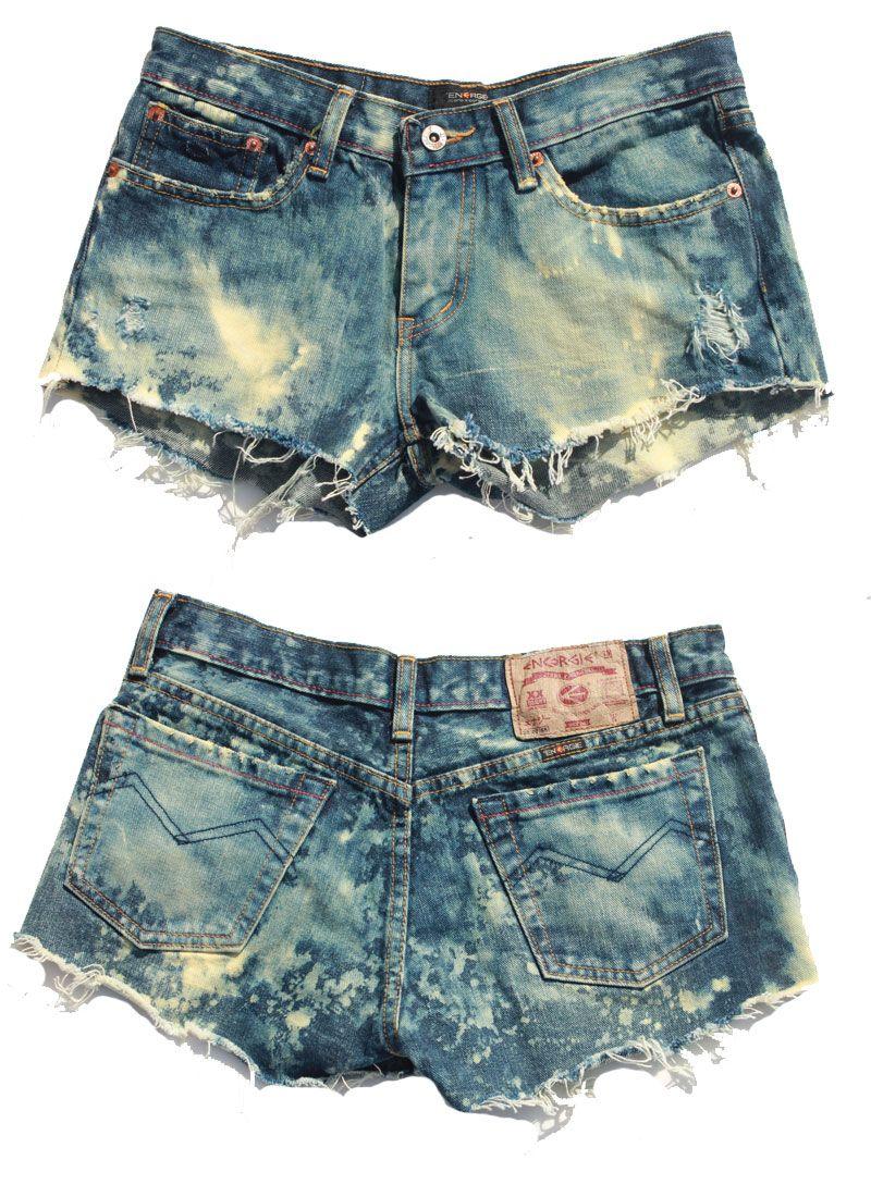 i want some acid washed shorts....so cute
