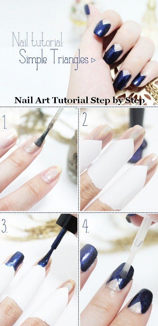 Nail art designs step by step tumblr | Nail art design ideas ...