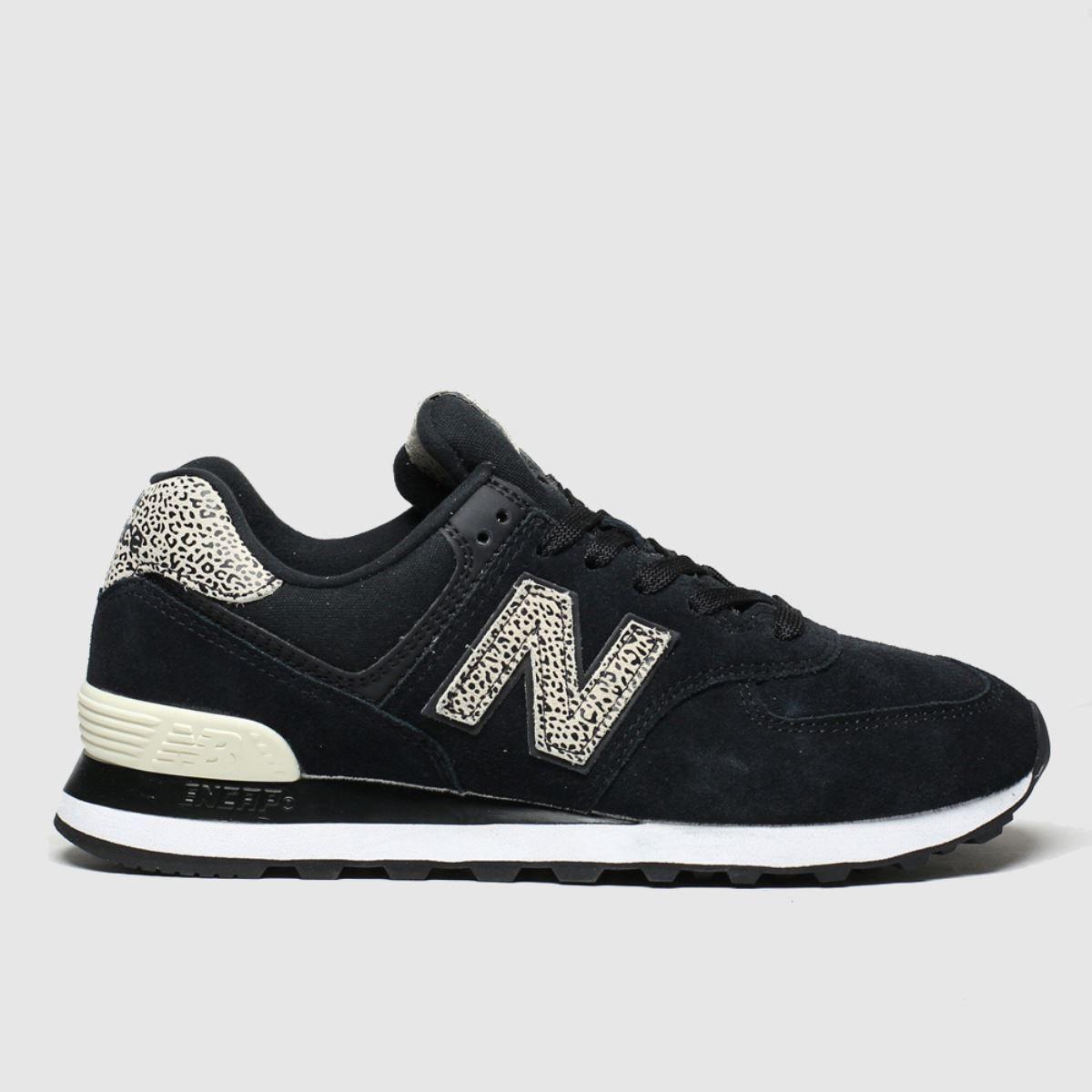 new balance trainers black