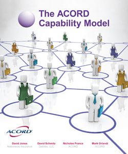 The Acord Capability Map For The Insurance Industry Does Not