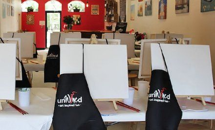 Image For Up To 38 Off Paint And Sip Classes