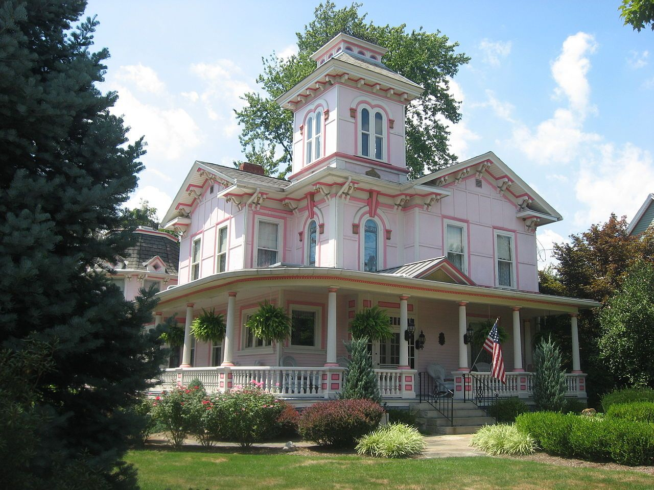 liggett freedlander house in wayne county ohio places across the