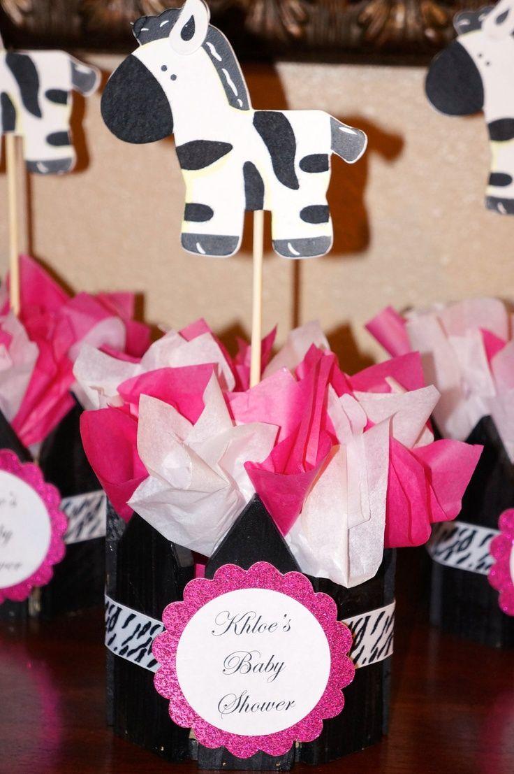 Pinterest pink zebra for baby shower | Zebra Print Baby ...