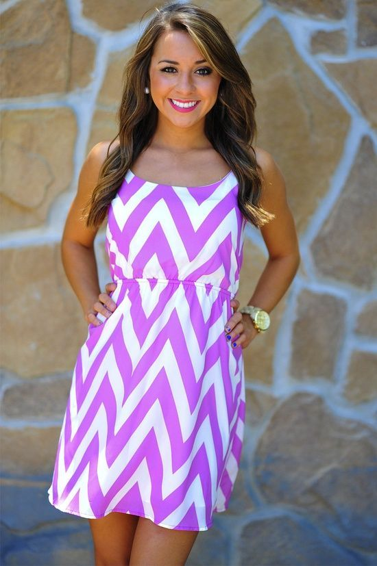 Beautiful and nice chevron summer dress for ladies maxi dress #anna7891 #style for women #womenfashionwww.2dayslook.com