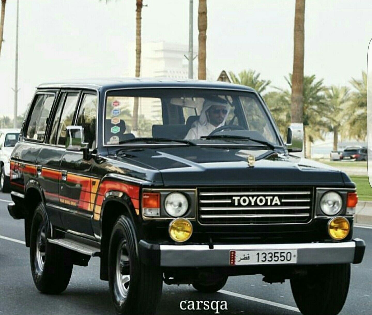 Mint black FJ60. Got pic from instagram #qatar_8668. Find this Pin and more  on Toyota land cruiser ...