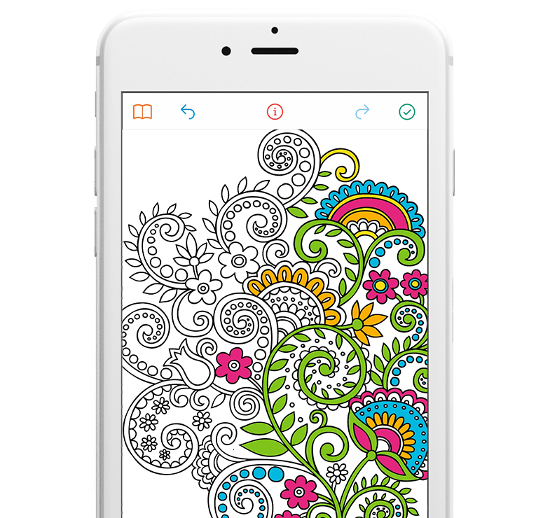 Coloring Book App For Adults