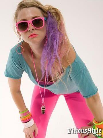 80\u0027s Halloween costume idea! I\u0027m gunna be a green 80\u0027s girl for