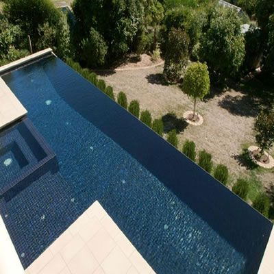Image result for inset spa in knife edge pool | Pools | Pinterest ...